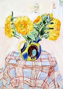 Billy Sullivan, 'Teddy Bear Sunflowers', 2015