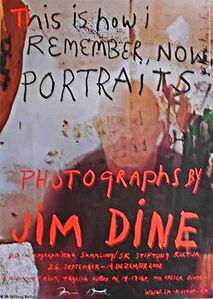 Jim Dine, 'This is How I Remember Now (Hand Signed)', 2008