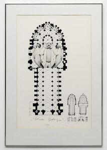 Marinus Boezem, 'Etude Gothique', 1980