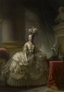 Élisabeth Louise Vigée-Le Brun, 'Marie Antoinette in a Court Dress', 1778