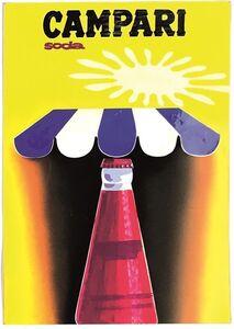 Celestino Piatti, 'CAMPARI SODA', ca. 1960