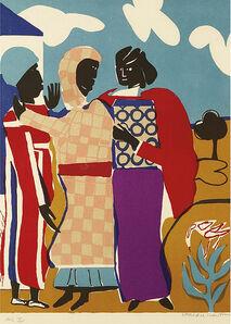 Romare Bearden, 'Three Women (Easter Sunday)', 1979
