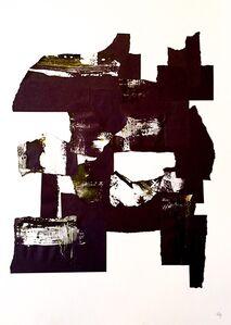 Gabriel de la Portilla, 'Black and White Abstraction I', 2016