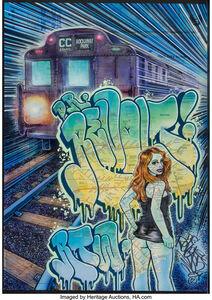Dr Revolt, 'Miss Subway 10.36', 2012