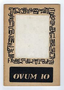 Clemente Padín, 'OVUM 10 (nº1)', 1969