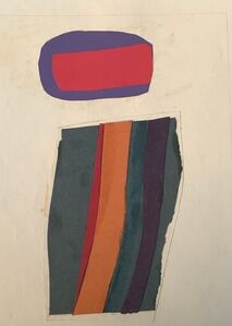 Charles Pollock (1902-1988), 'Color study #13 ', 1965