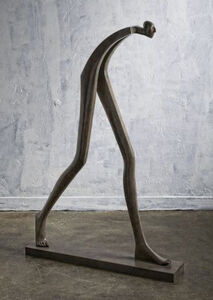 "Isabel Miramontes, '""Big Step"" - Bronze, Emotion, Sensation, Balance, Creativity, Elegance', 2016"