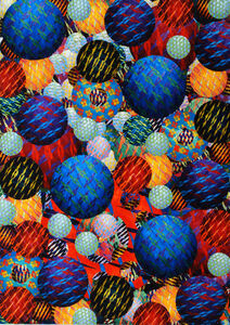 Aaron Karp, 'Fanfare Fireball', 2015