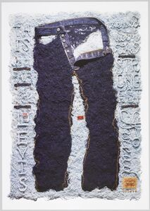 Joe Shouldice, 'Levi's, The Strongest Thread (poster)', 2009