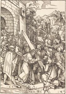 Hans Schäufelein the Elder, 'Christ Bearing the Cross'
