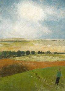 David Brayne, 'The Dry Hill Track to Ham', 2019
