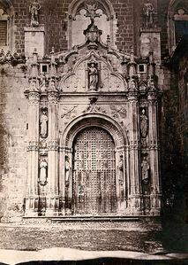 Charles Clifford, 'Principal Facade, San Juan de los Reyes, Toledo, Spain', 1850s/1850s