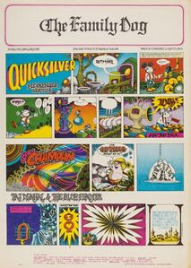 Rick Griffin, 'Quicksilver Messenger Service: The Family Dog U.S. concert poster', 1967