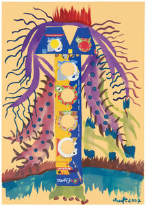 Bela Szeift, 'Sunday Painter', 2000