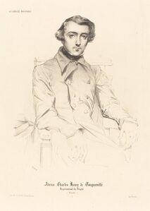 Théodore Chassériau, 'Alexis Charles Henry de Tocqueville', 1848