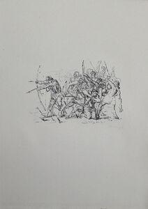 Max Slevogt, 'Kampf der Hellenen gegen die Barbaren', 1921