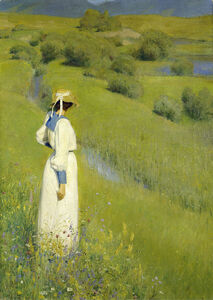Richard Riemerschmid, 'In the Countryside', 1895