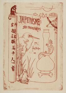 Félix Hilaire Buhot, 'Japonisme: Titre', 1883