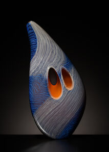 Benjamin Cobb, 'Blue Stitched Mussel', 2020