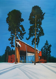 Eamon O'Kane, 'Alvar Aalto remix (painted whilst listening to Closer by Joy Division)', 2008
