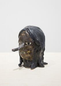 Klara Kristalova, 'Wood Head', 2015