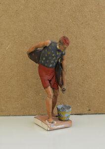 Company School Artist, 'A Water Carrier'