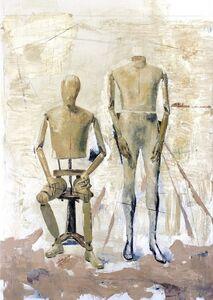 Bogdan Vladuta, 'COMPOSITION (2 MANNEQUINS)', 2013