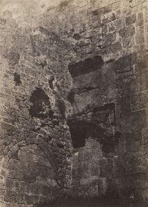Auguste Salzmann, 'Jérusalem. Enceinte du Temple. Porte Herodienne (Jerusalem. Temple wall. Herodian gate)', 1854-1856