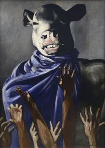 Francis Picabia, 'L'Adoration du veau (The Adoration of the Calf).', 1941-1942
