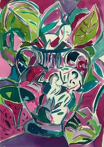 Emi Avora, 'Vase with Warrior', 2019