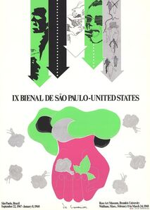 Roberto de Lamonica, 'IX Bienal de Sao Paulo', 1968