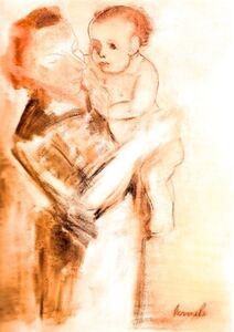 Constant, 'Moederschap', 1949