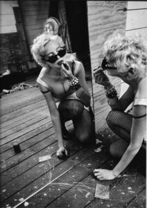 Inge Morath, 'Anna Thomson Making up for the movie Angela on Mott street, NY', 1994