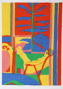 John Grillo, 'Lady in a Chair', ca. 1978