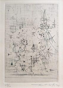 Zao Wou-Ki 趙無極, 'Untitled', 1954