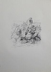 Max Slevogt, 'Die Schlacht bei Kunaxa', 1921