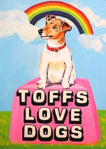 Magda Archer, 'Toffs Love Dogs', 2014