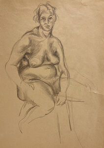Jared French, 'Untitled (Female Figure)', 1930