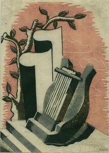 Ronald Grierson, 'Lyre', 1932