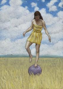 Ryan Buffington, 'Girl on a Ball', 2014