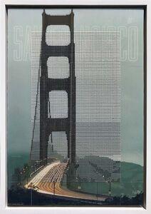 Nina Tichava, 'Golden Gate Bridge 1960s, San Francisco CA / Borrowed Landscape No.12', 2018