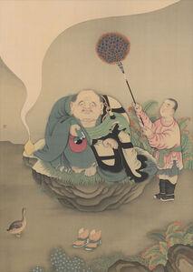 Guo Hui 郭輝, 'Arhat Ingata 一團和氣-因揭陀尊者', ca. 2020
