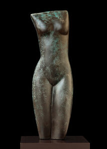 Emily Young, 'Night Form (Bronze)', Conceived 2017 and cast 2019