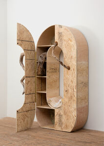 Jessi Reaves, 'Cabinet for Rotten Log', 2016