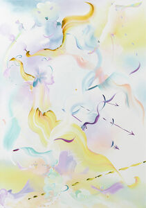 Fiona Rae, 'Sighs to the winds', 2018