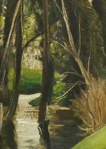John Aldridge, 'TREES IN A STREAM'