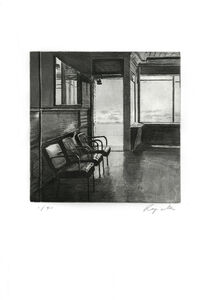 John Register, 'Waiting Room', 1990