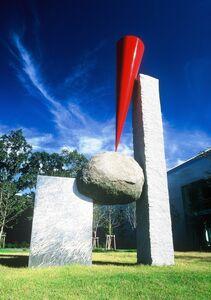 Keiji Uematsu, 'Floating Form-Red ', 2000
