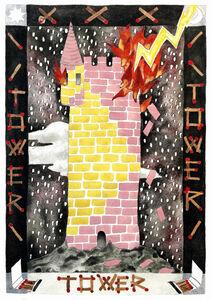 Keri Oldham, 'Tower Card', 2018