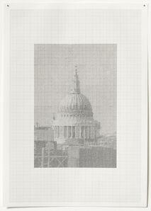Ewan Gibbs, 'Towards St. Paul's', 2002